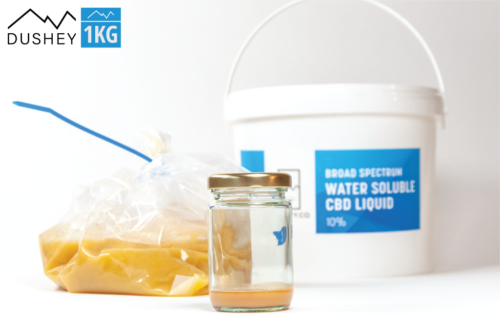 Broad Spectrum Water Soluble CBD Liquid