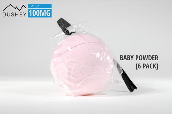 bath bomb baby powder
