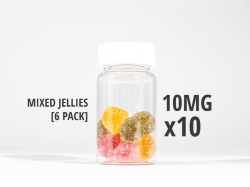 mixed jellies 100mg 50g tub