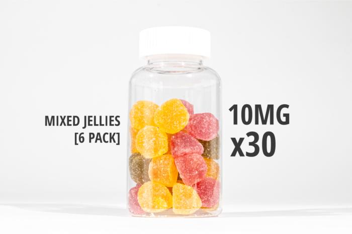 mixed jellies 300mg 150g tub