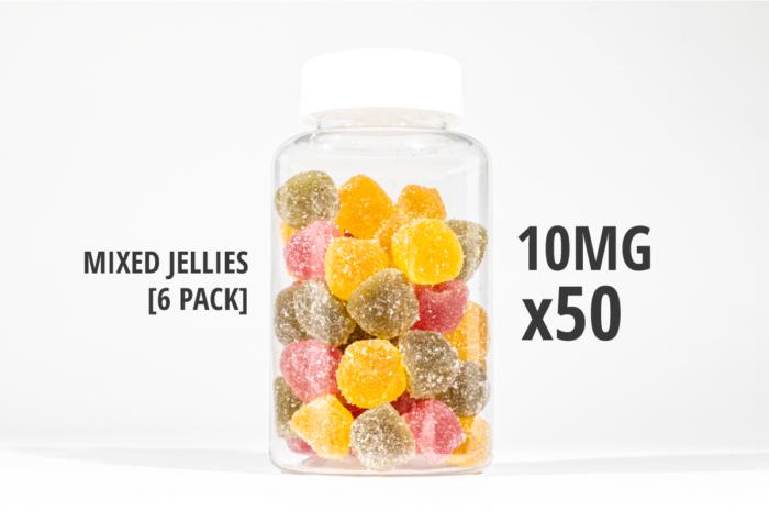 mixed jellies 500mg 250g tub